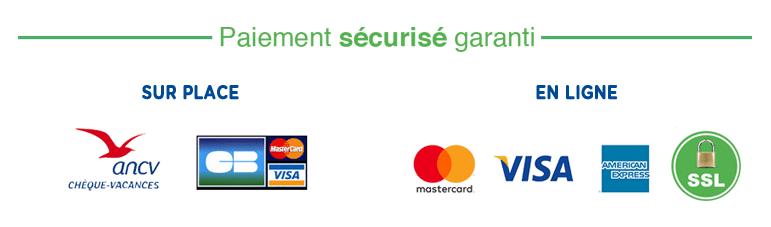 Paiement sécurisée garanti